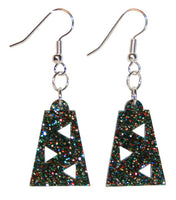 Abstract Earrings - Hypoallergenic - For Adults