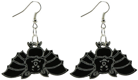 Halloween Bat Earrings for Adults - Hypoallergenic - No Lead, No Nickel