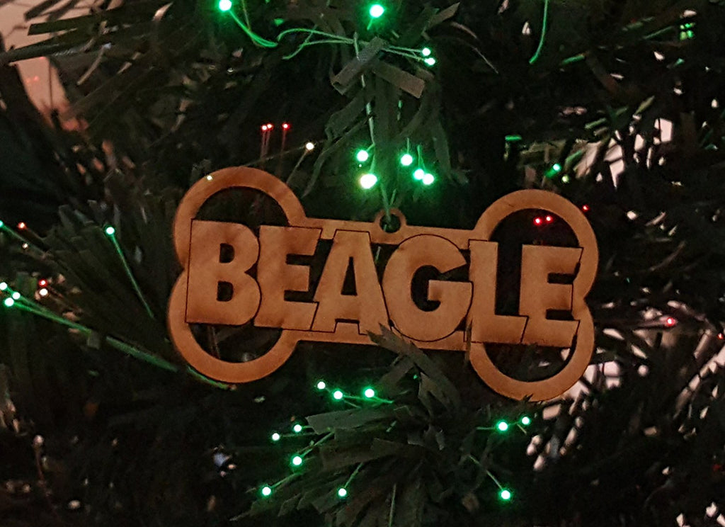 Beagle Dog Breed Ornaments - Set of 4