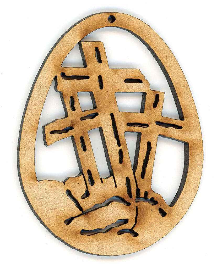 Christian Easter Eggs Ornaments