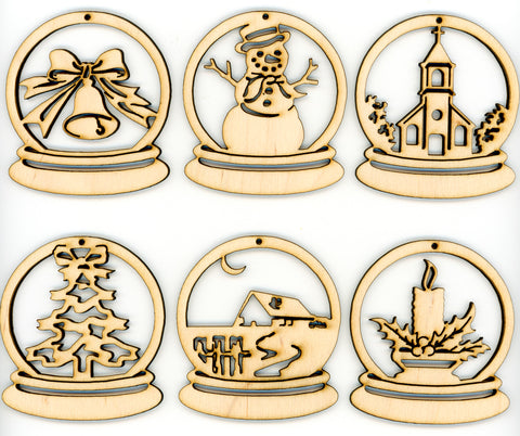 Snow Globe Christmas Decorations Ornaments