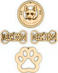 Welsh Corgi Dog Breed Ornaments - Set of 4