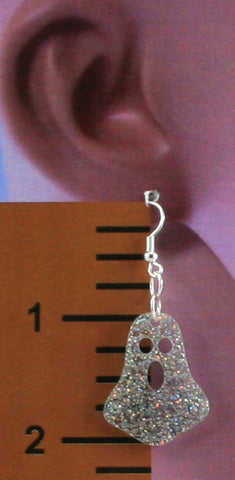 Ghost Halloween Earrings