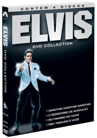 ELVIS - DVD COLLECTION [BOX 4 DISCOS]