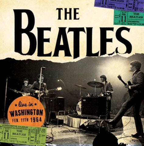 THE BEATLES - LIVE IN WASHINGTON FEB. 11TH 1964