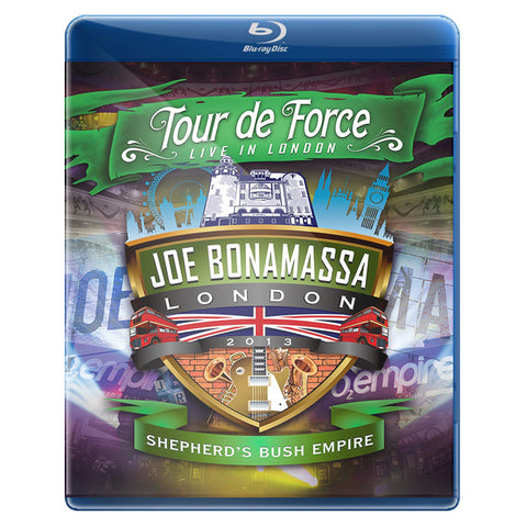 JOE BONAMASSA - TOUR DE FORCE - LIVE IN LONDON - IMPORTADO
