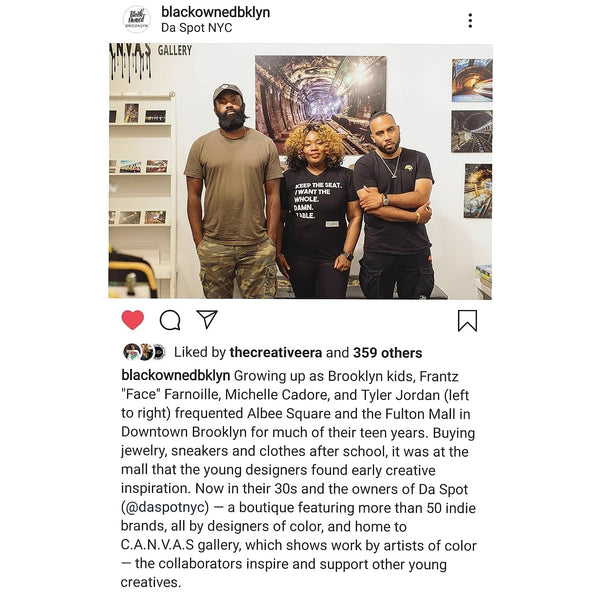 BLACK OWNED BROOKLYN features DA SPOT NYC!