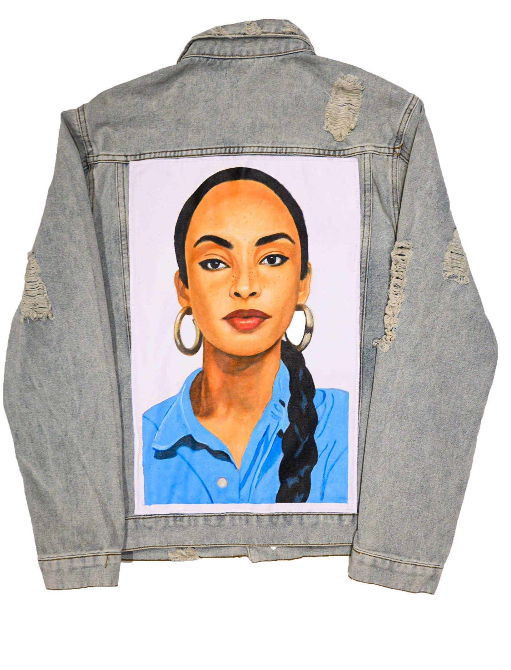 SWEETEST TABOO Hand Painted Denim Jacket - DA SPOT NYC