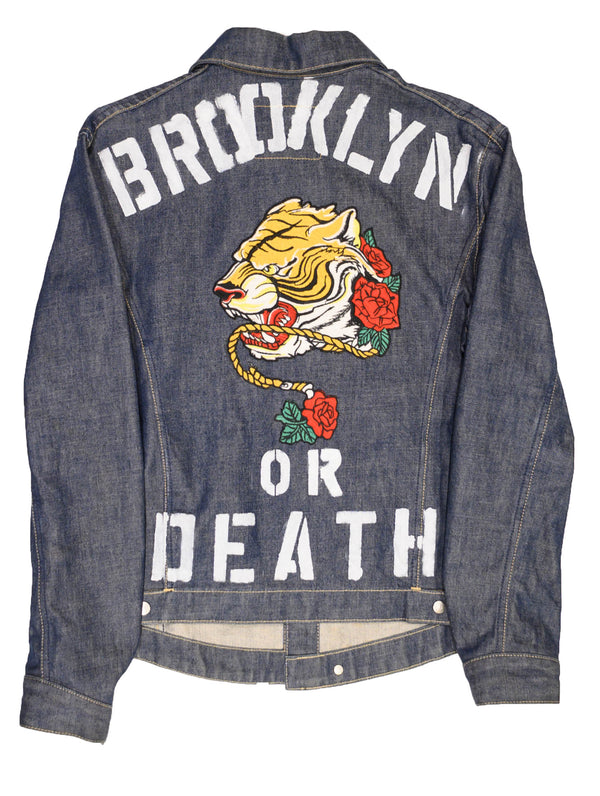 BKLYN or DEATH Jacket - DA SPOT NYC