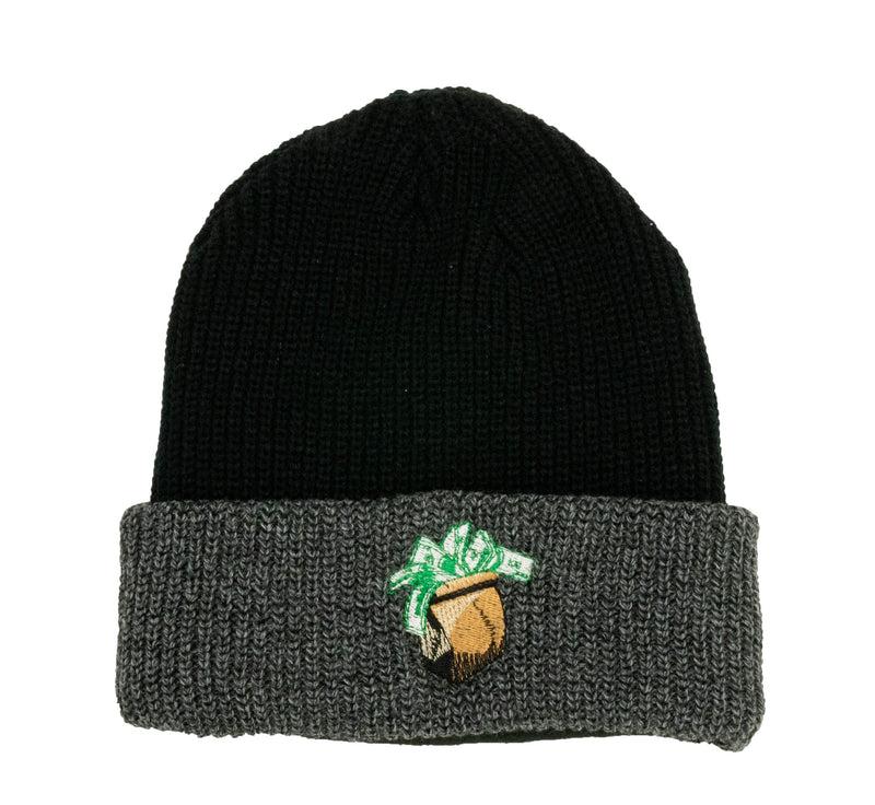 Brown Paper Bag Beanie - DA SPOT NYC