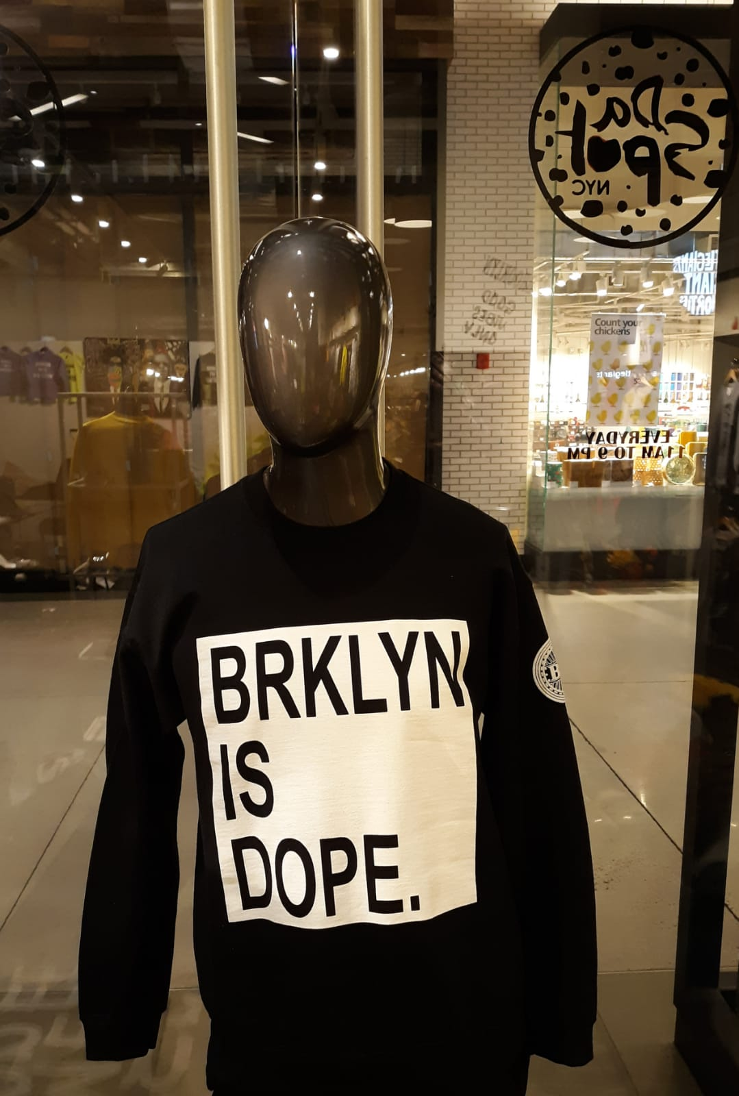 BROOKLYN EMPIRE | BROOKLYN IS DOPE SWEATSHIRT