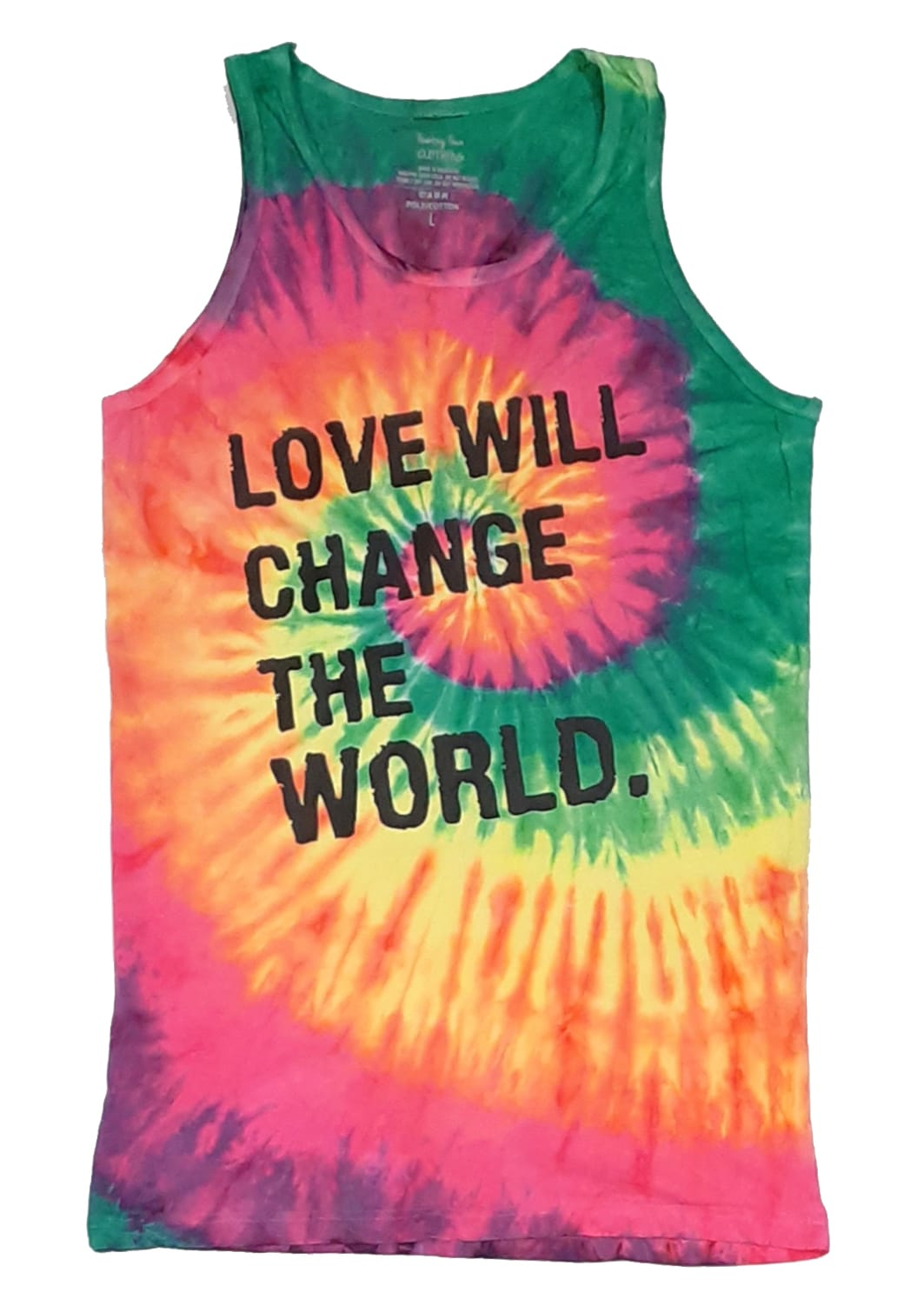 FRANTZY FACE  | LOVE WILL CHANGE THE WORLD Tank