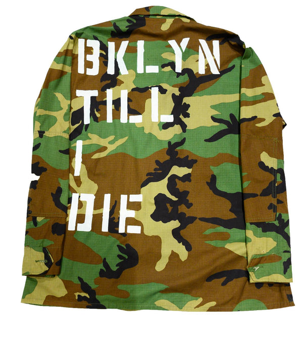 Republic of BK | BKLYN TILL I DIE ARMY JACKET - DA SPOT NYC