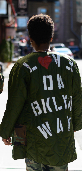 Republic of BK | LOVE DA BROOKLYN WAY JACKET - DA SPOT NYC