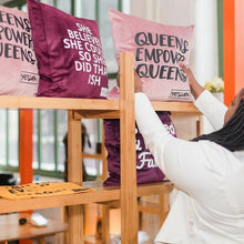 YES I AM | QUEENS EMPOWER QUEENS PILLOW - DA SPOT NYC