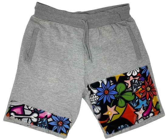 FRANTZY FACE | Flower 2 Da PPL Shorts - DA SPOT NYC