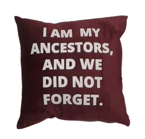 YES I AM | NEVER FORGET PILLOW