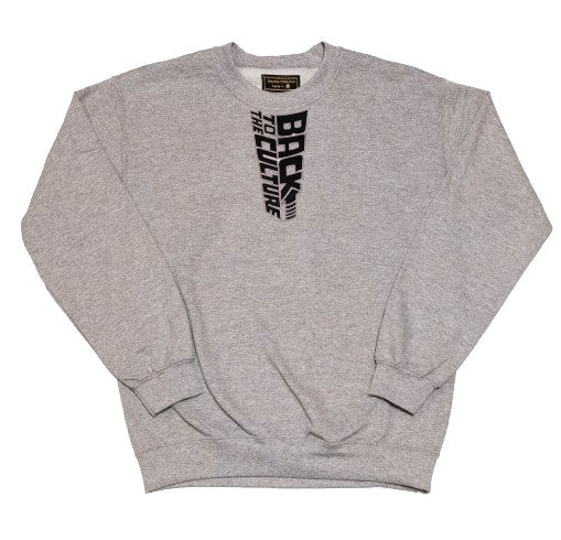 """Back To The Culture"" Crewneck - DA SPOT NYC"
