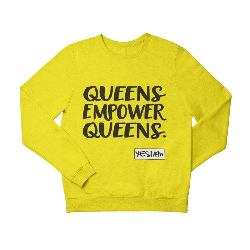 QUEENS EMPOWER QUEENS SWEATSHIRT - DA SPOT NYC