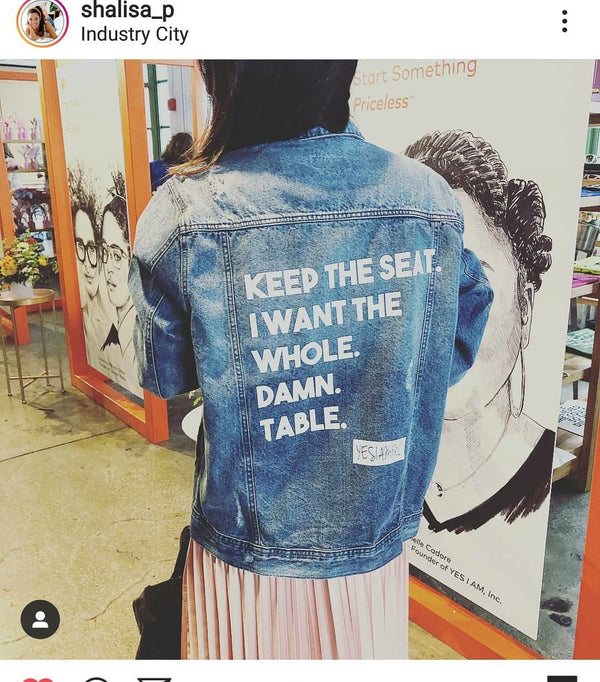 YES I AM | BEAST MODE DENIM JACKET - DA SPOT NYC