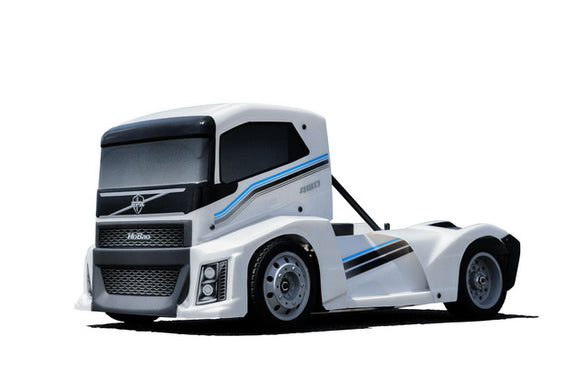 [HB-GPX4E-W] Hyper EPX 1/10 Semi Truck On-Road ARR with Pearl White Paint body