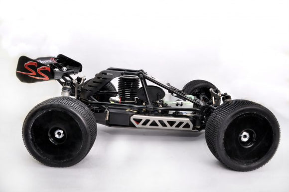 [HB-CT-C30B] HYPER CT 1/8 CAGE TRUGGY NITRO RTR W/30 TURBO ENGINE (BLACK BODY)