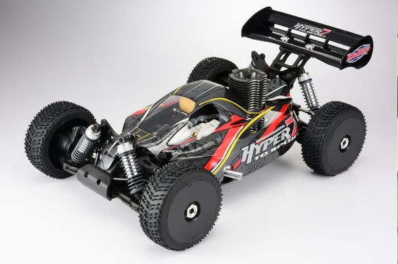 HYPER 7 TQ 1/8 BUGGY NITRO RTR W/28 TURBO ENGINE (GREY BODY)