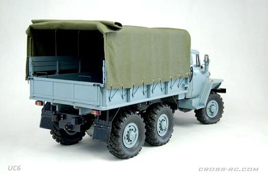 UC6 1/12 6x4 Scale Truck Crawler Kit