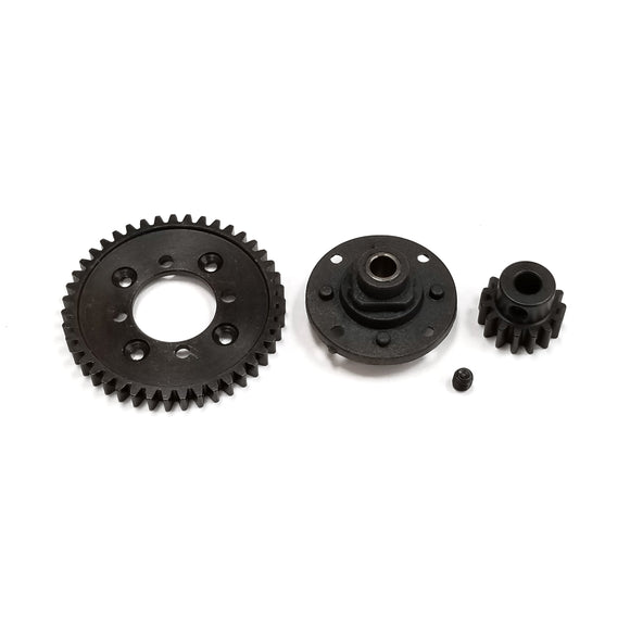 Central Differential Gear 43T (Zinc Alloy) - Zombie
