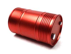 1/10 Scaler Aluminum Oil Drum Red