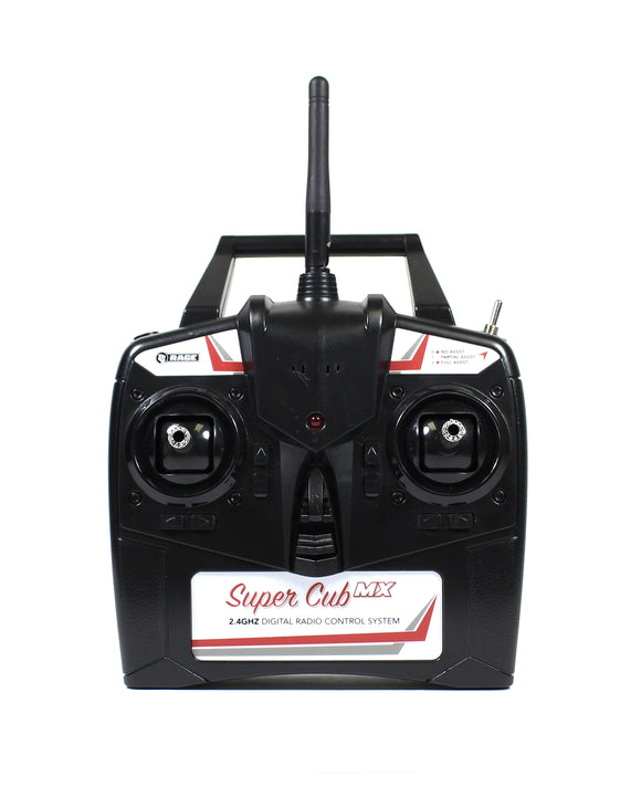 2.4G 4-channel transmitter; Super Cub MX
