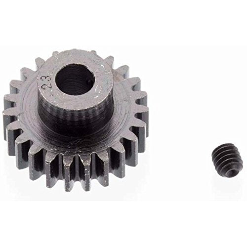EXTRA HARD 23 TOOTH BLACKENED STEEL 32P PINION 5M/M