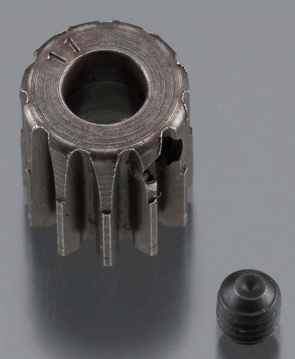 EXTRA HARD 11T .8 MOD 5MM PINION
