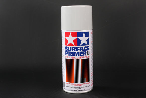 SURFACE PRIMER L GRAY 180ML SPRAY CAN