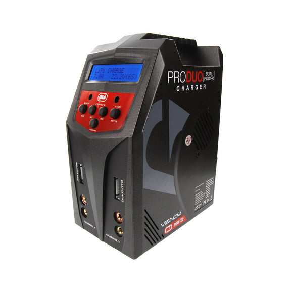 Pro Duo 80W X2 Dual AC/DC 7A LiPo/LiHV&NiMH Battery Charger