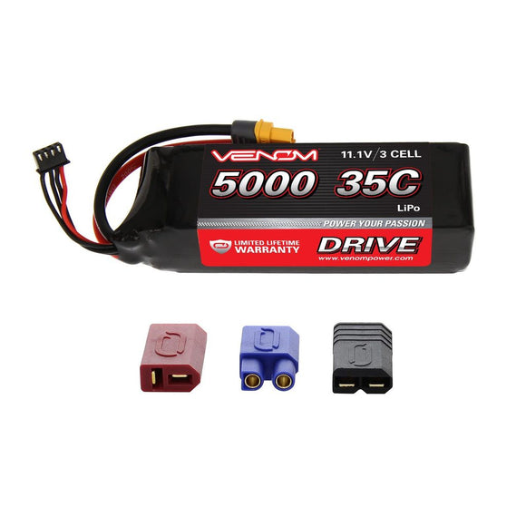 DRIVE 35C 3S 5000mAh 11.1V LiPo Battery with UNI 2.0 Plug