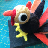 Online Class - Needle-felting 104: Learn needle-felting basics while making your own Tommy Turkey  - Nov. 12, 6-8:00 and Nov. 14, 2-4:00