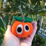 Online Class - Needle-felting 102: Learn needle-felting basics while making your own Patty Pumpkin  - Oct 17, 2-4:00 and Oct 21, 6-8:00