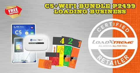 C5 + Globe Pocket Wifi Bundle