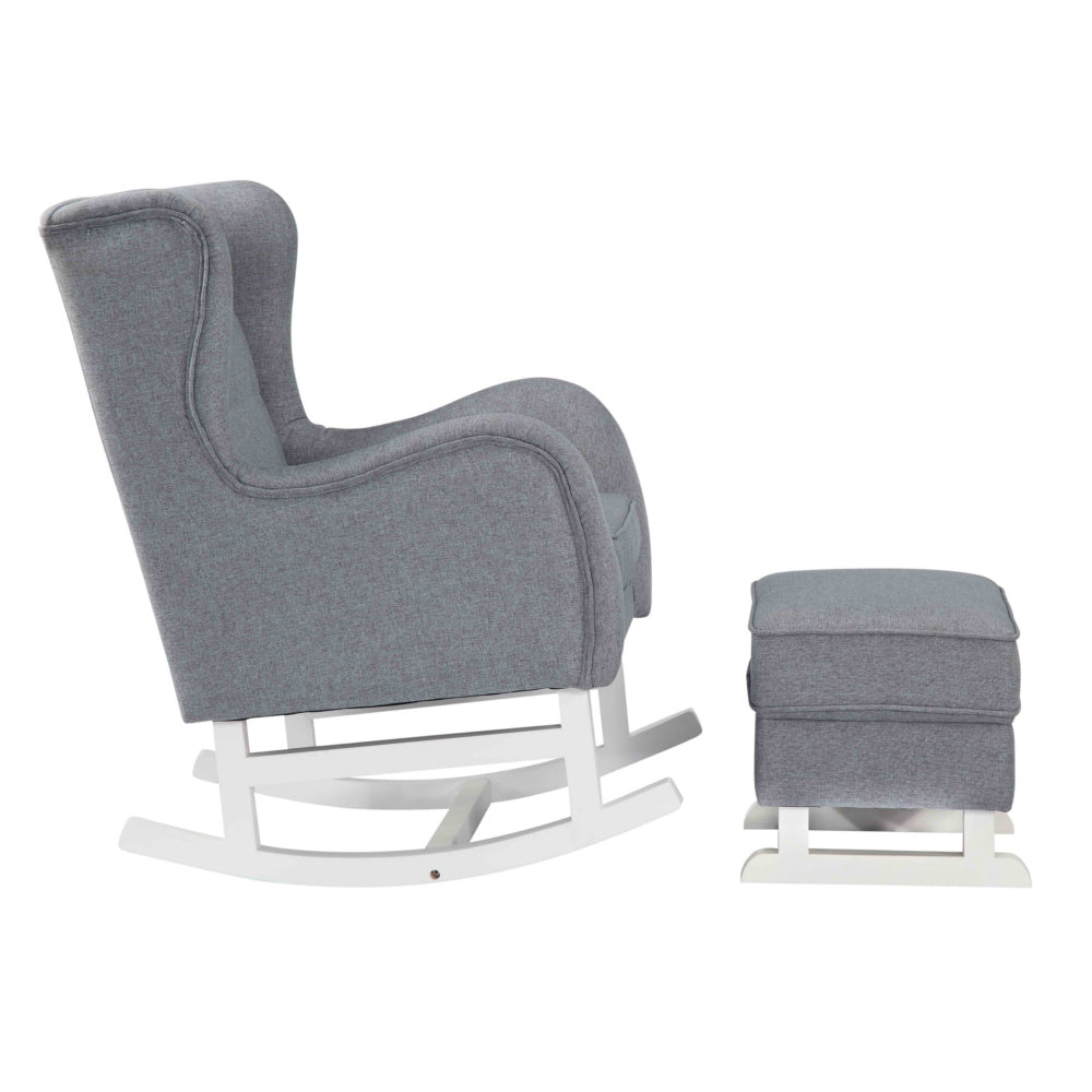 Baby Lounge Chair, Gray