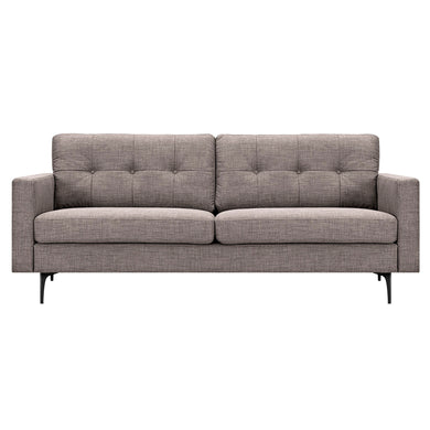 Aluminium Gray Greta Sofa- Black