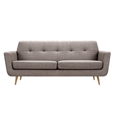 Aluminium Gray Gala Sofa- Brass