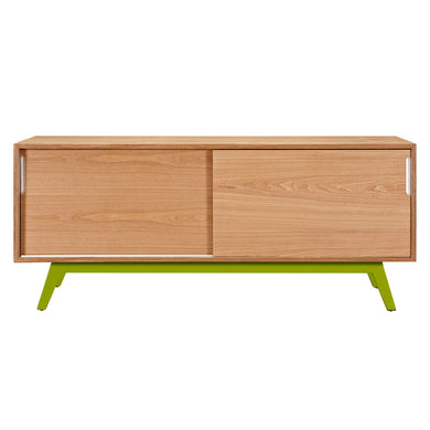 Green Elsa Sideboard- Natural
