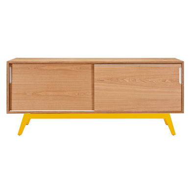 Yellow Elsa Sideboard - Natural