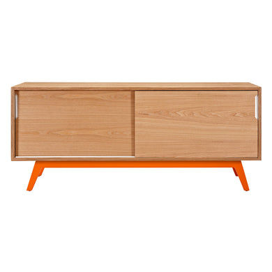 Orange Elsa Sideboard- Natural