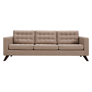 Light Sand Mina Sofa - Walnut