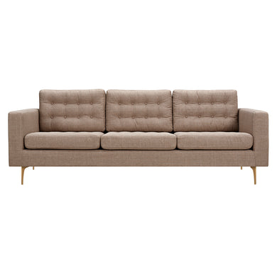 Light Sand Hilde Sofa - Blanc + Gris