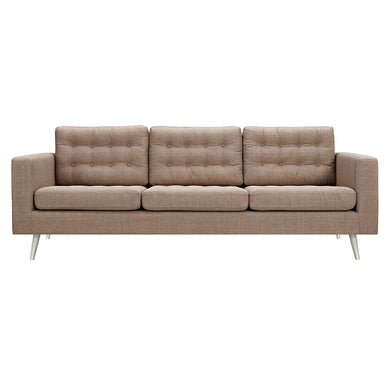 Light Sand Freja Sofa - Blanc + Gris