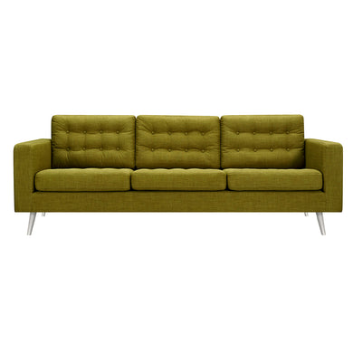 Avocado Green Freja Sofa - Blanc + Gris