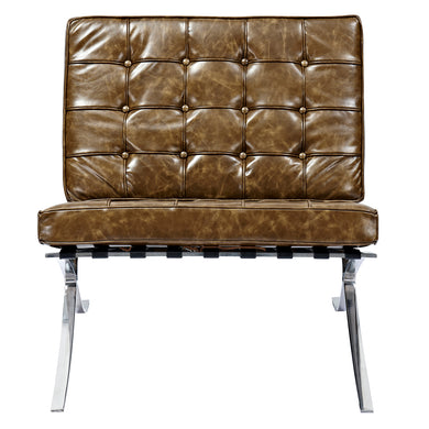 Palermo Olive Mies Chair